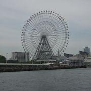 大阪港周辺を一望