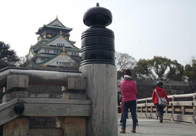 大阪城 極楽橋