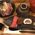 写真:佰食屋肉寿司専科