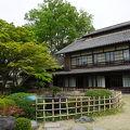 写真:渋沢栄一生地 (中の家)