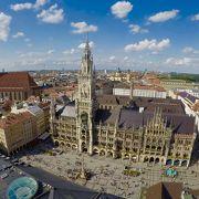 ミュンヘンを見下ろすなら市庁舎よりペーター教会展望台へ。