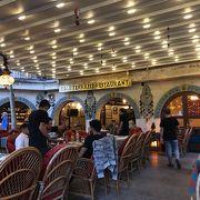 カッパドキアで晩御飯を食べたレストラン