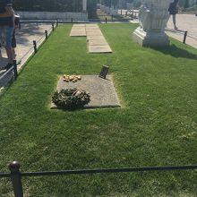 フリードリヒ大王のお墓