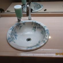 トイレがきれいです