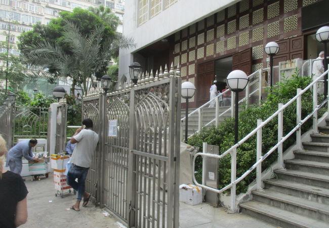 初夏の九龍清真寺 (回教寺院)