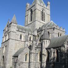 ダブリン最古の教会