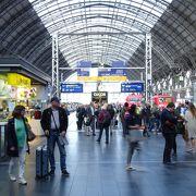 大きな駅です。