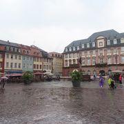 ハイデルベルグで一番賑やかな場所