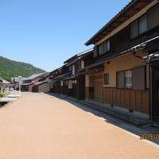 古くて静かな熊川宿