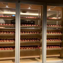 りんごキッチンだけにりんごがいっぱい!