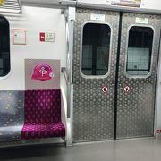 地下鉄は時間が読める移動手段