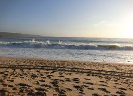 ナザレのビーチ