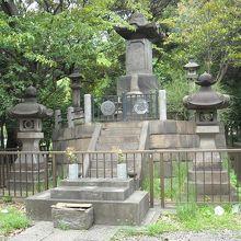 彰義隊戦士之墓
