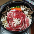 山菜と猪鍋が絶品