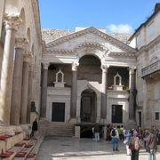 古代ローマ帝国宮殿後