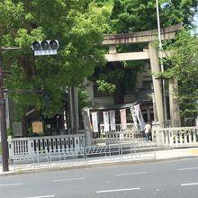 九曜紋の神社