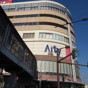 駅前のショッピングセンターです