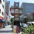 写真:人形町商店街 - からくり櫓