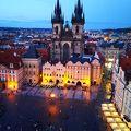 写真:プラハ旧市庁舎の塔