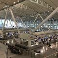 写真:福岡空港 国際線 送迎デッキ