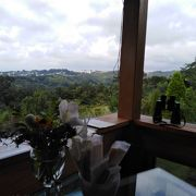 オープンガーデン 眺めの良いカフェレストラン
