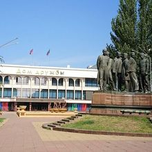 Monument to Dagistan Fighters for the Soviet Regime