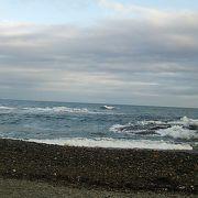 「大洗サンビーチ」と比べ砂浜までの距離はさほど長くありません