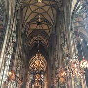 ウィーンで1番有名な聖堂