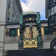ウィーンの仕掛け時計