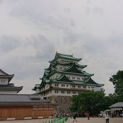 名古屋城天守閣登城できません