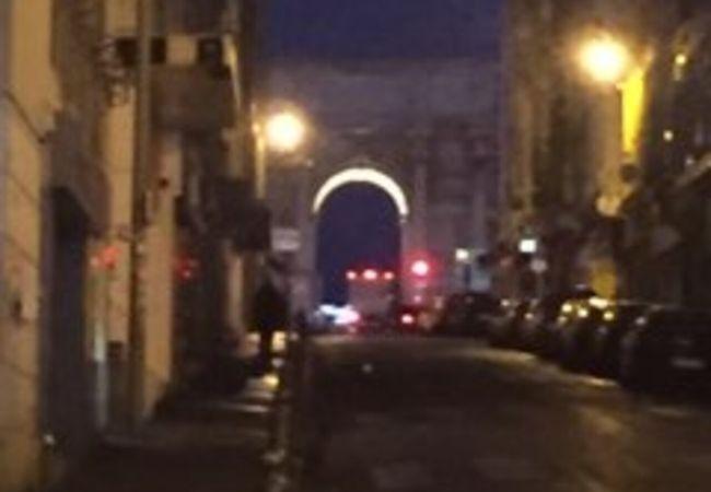 マルセイユにある凱旋門