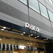 田町駅前にある複合商業施設