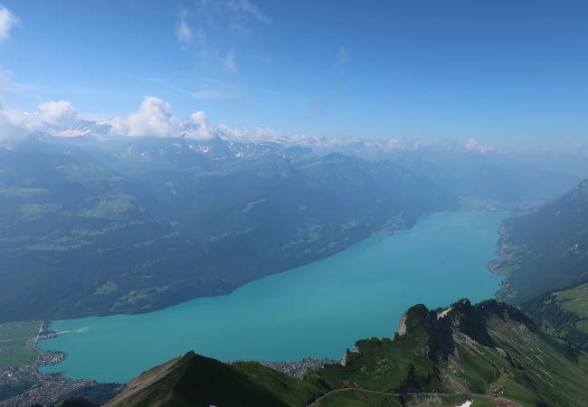 二つの湖の1つ