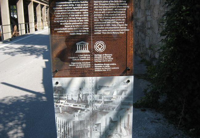 世界遺産で町起こしをしていたイドリヤ(スロヴェニア)(世界遺産の構成資産)