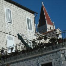 古都トロギール(クロアチア)(世界遺産)