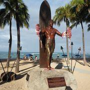 ワイキキビーチの象徴