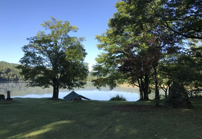 チミケップ湖キャンプ場