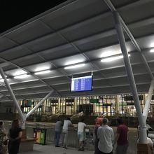 タシュケント空港 国際線