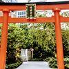 日本橋のど真ん中の神社