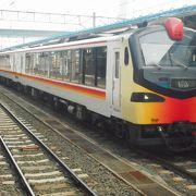 JR五能線を走るリゾート列車でした。