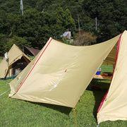 とてもよいフリーサイトのキャンプ場です