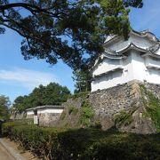 名古屋城、本丸の表二之門近くの、東南隅櫓