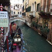 運河からベネチア観光