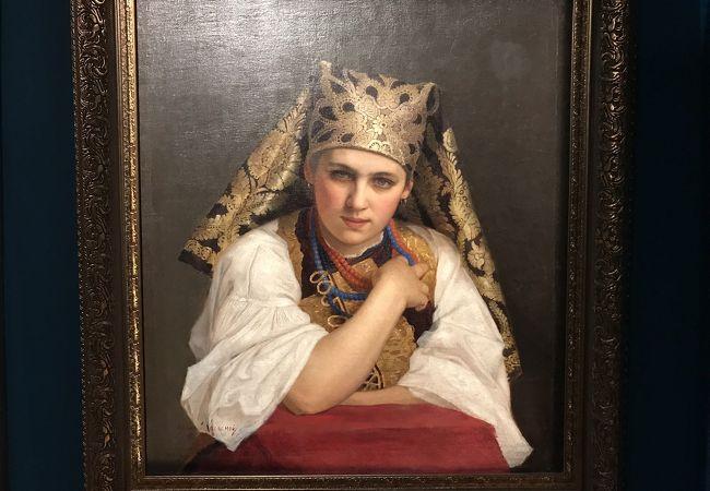 ロシアの美術品