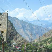 ダゲスタン共和国のギムリの塔