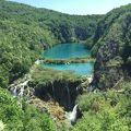 写真:プリトヴィッツェ湖群国立公園