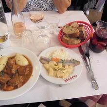 サングリア、お勧め前菜、お勧めメニュー