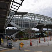 バンクーバーに飛行機で着いた際、市内に向かうスカイトレインの始発駅