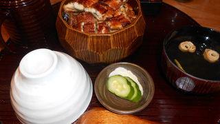 落ち着いた雰囲気、おいしいうなぎ料理の四代目菊川グローバルゲート店へ