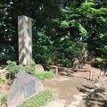 写真:小石川後楽園 藤田東湖之記念碑